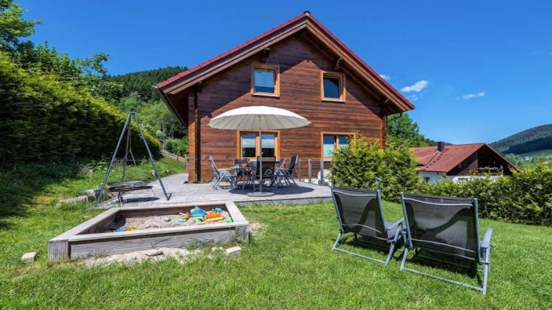 Exklusives Feriendomizil mit Sauna in Alpirsbach